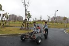 学生自制巴哈大赛赛车